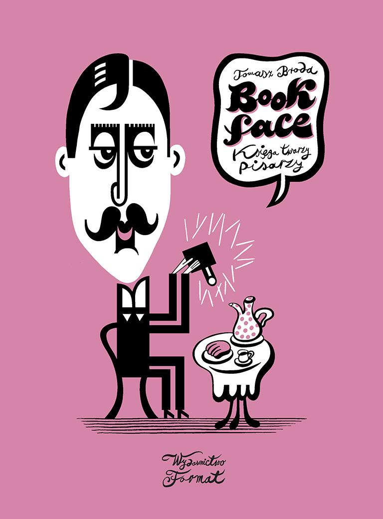 Bookface. Księga twarzy pisarzy, Tomasz Broda